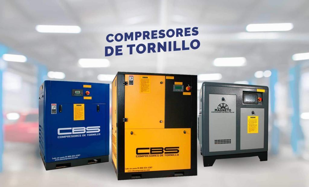 Compresores de Tornillo