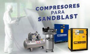 Compresores para Sand Blast