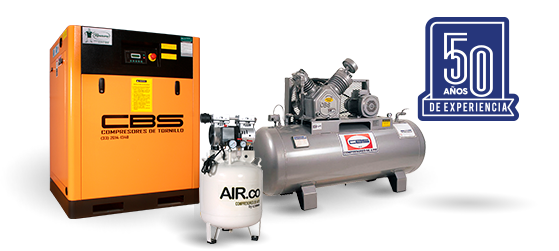 50 de experiencia en compresores de aire