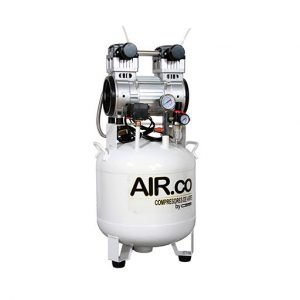 compresor libre de aceite 2 HP 50 litros