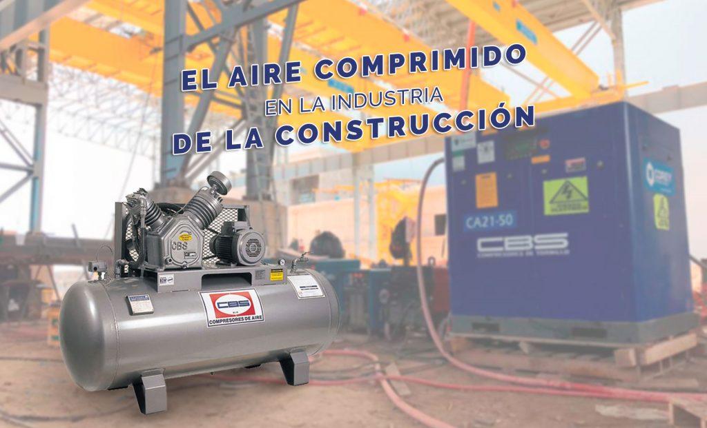 El aire comprimido en la industria de la construcción
